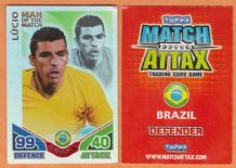 Brazil Lucio Inter Milan 252 Man of the Match